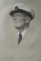 Chief Howard Warnberg (from the Veterans Art Monument: Navy)