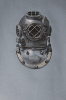 Mark V Helmet (from the Veterans Art Monument: Navy)