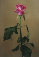 Rose II, 13 X 19, oil on panel--SOLD