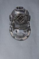 Mark V Diving Helmet (from Vets Art Coast Guard), mixed media (2012)